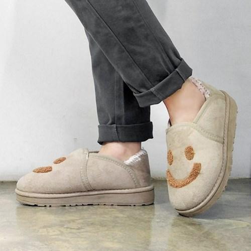 kami et muse Smile patch fur shoes_KM17w129