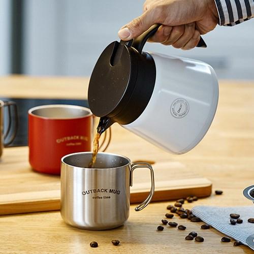 오슬로 드립서버 보온 커피주전자