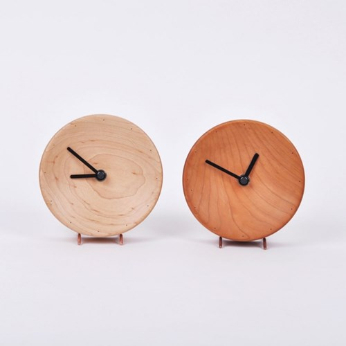 투웨이 원목 시계