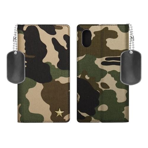 아이폰XS/X 카모룩 지갑 다이어리 케이스 3color