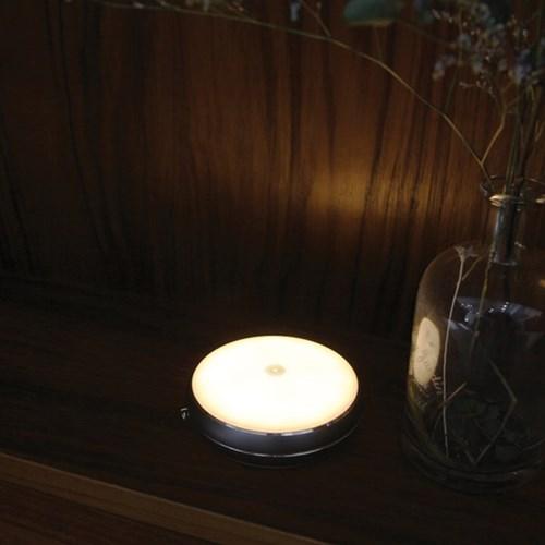 은은한 달빛 감성 문스톤 LED 터치 무드램프
