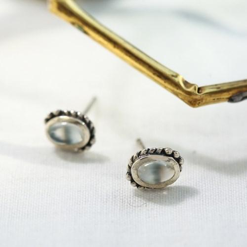 (10월 탄생석)브릴리에 오팔 귀걸이