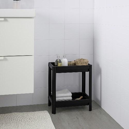 이케아 VESKEN 욕실2단선반/다용도선반