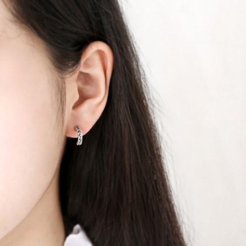 마카사이트 링 귀걸이