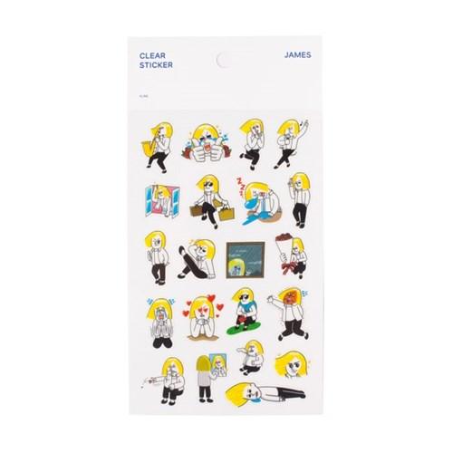[LINE] 라인프렌즈 PVC 스티커