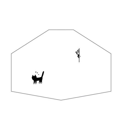 [Organic Mask] Surprise cat (Adult)