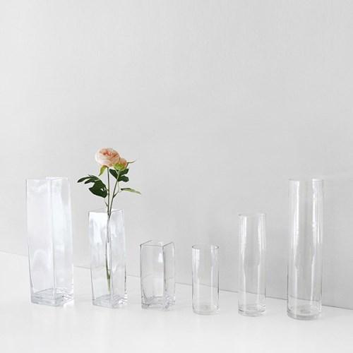 투명 유리병 - 클린 원형