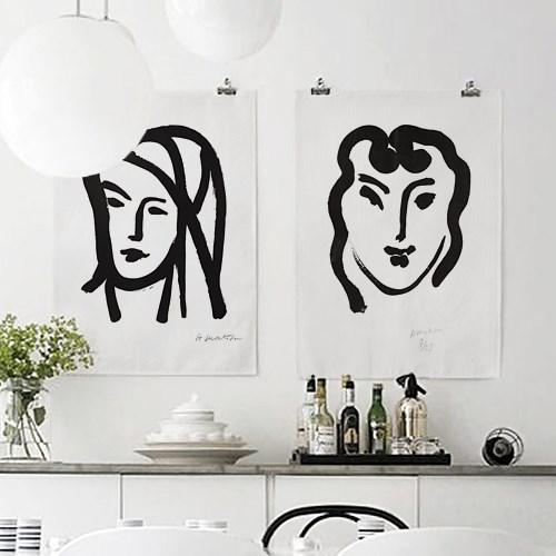 패브릭 포스터 앙리마티스 명화 그림 인테리어 액자