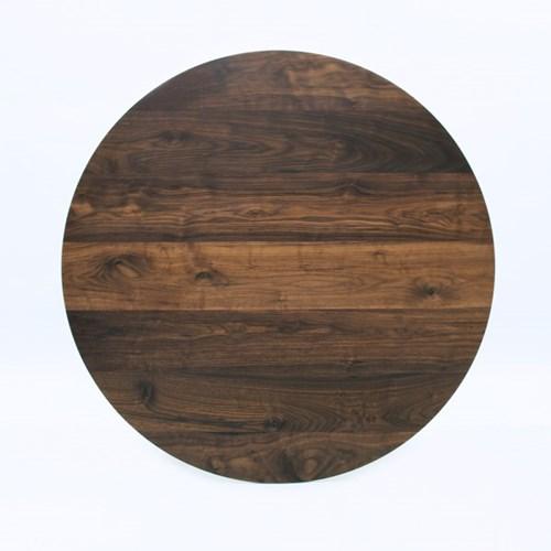 월넛 원형테이블