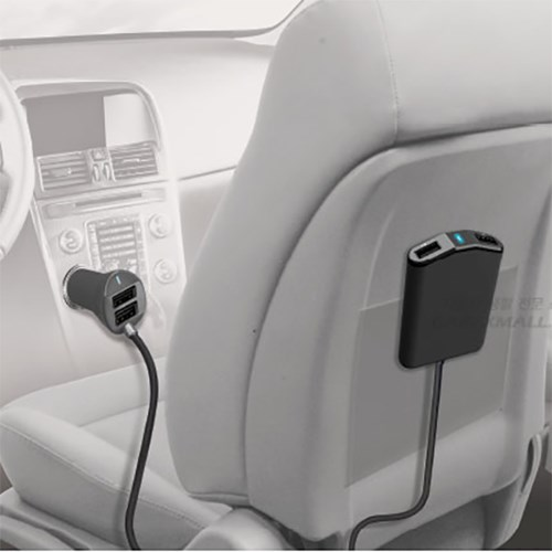 아이팝 백시트 마그넷 홀더 4포트 충전기