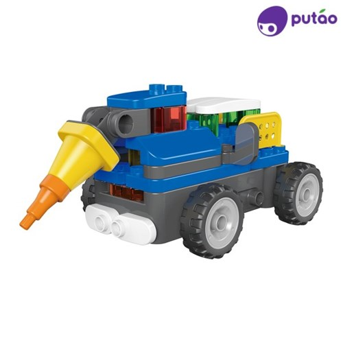 파이블럭 무선조정 변신장난감 세트 불도저