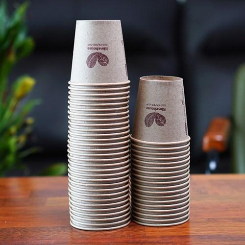 알럽하우스 네가지 없는 무표백 종이컵 1000개
