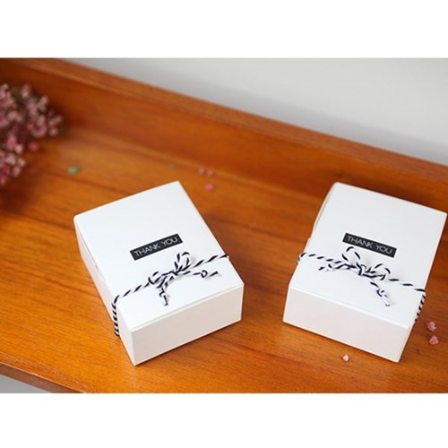 [DIY] 땡큐 스티커 (2색×10줄×2장) /초콜릿/포장_(957383)