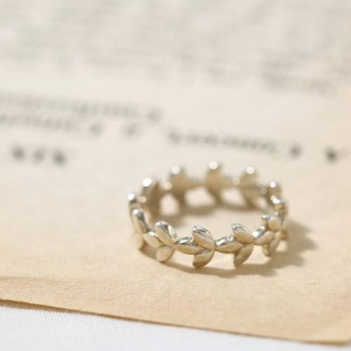 [925실버] 월계수 반지