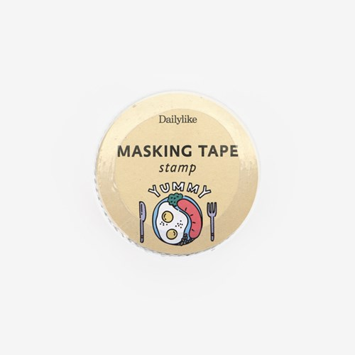 Masking tape : stamp - 18 Good morning