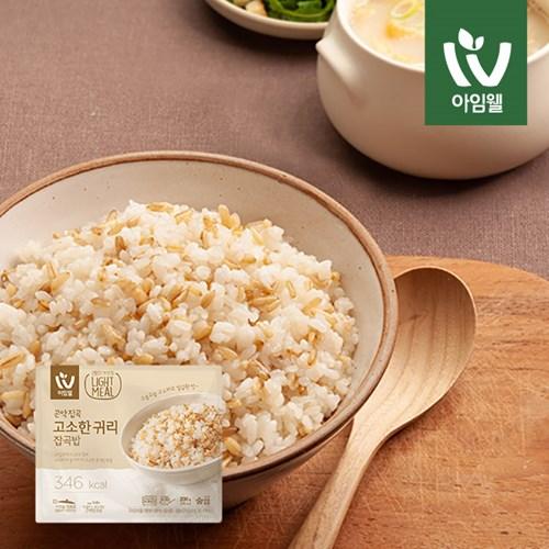 [아임웰] 집밥보다 맛있는 라이트밀 영양 곤약밥 9종 골라담기