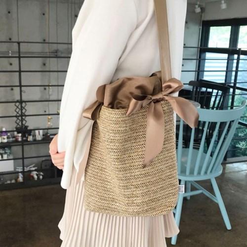라피아백 Raffia bag - Gold