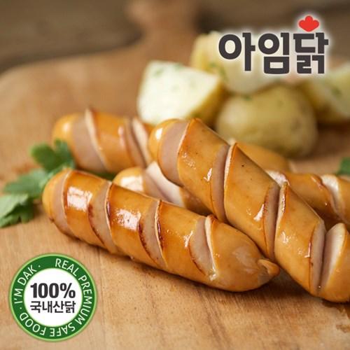 [아임닭] 프랑크 닭가슴살 소시지 3종