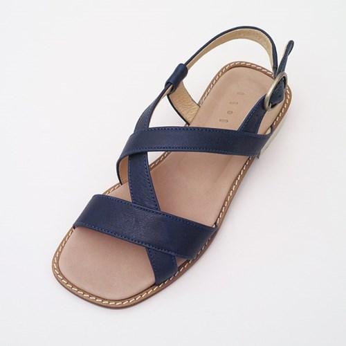 Strap Sandal _ Midnight Blue