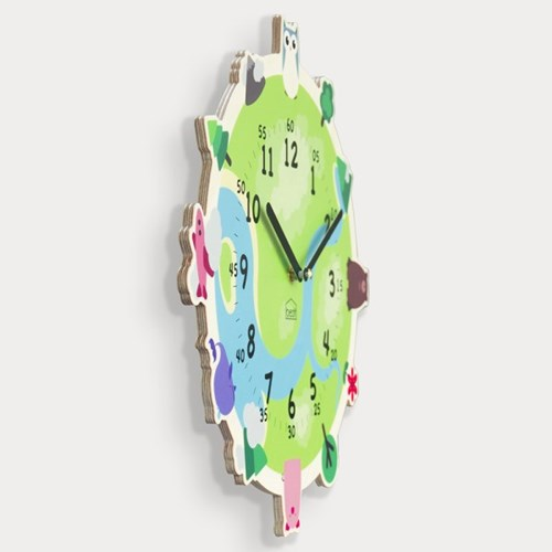 [BEZIT] 재밌는 시간 해피어스 무소음 벽시계
