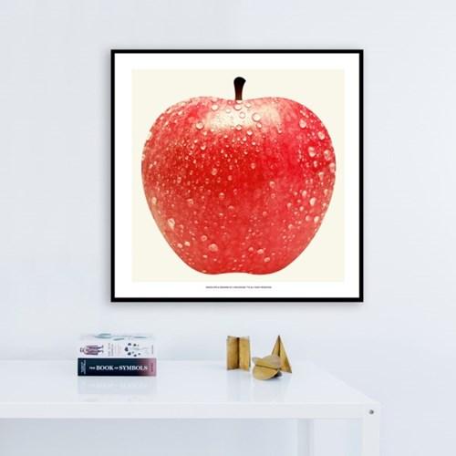 행운의 사과 그림 포스터