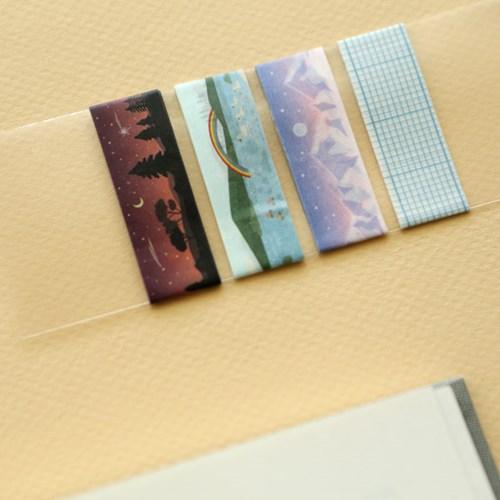 Masking tape single - 127 Shooting star