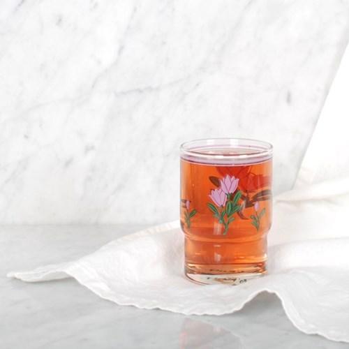 핑크 튤립 컵