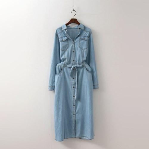 Denim Shirts Dress