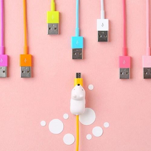 케이블바이트 마이크로 USB 케이블 8색 (안드로이드용)