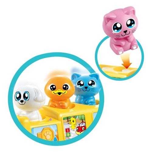 (올리자토이) 동물버스 친구들 멜로디완구 장난감