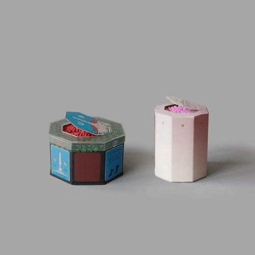 팔각성냥 _ pale pink