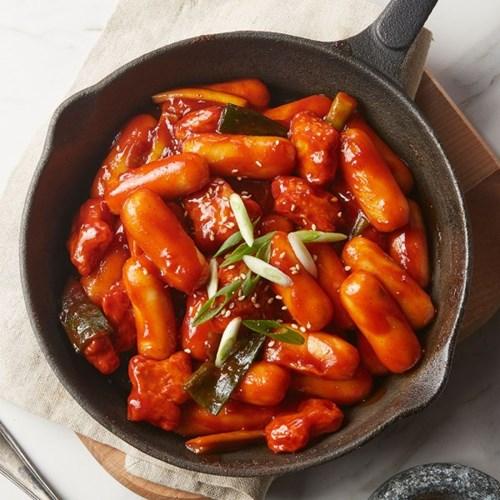 [추억의 국민학교 떡볶이] 국떡 낭만치즈떡