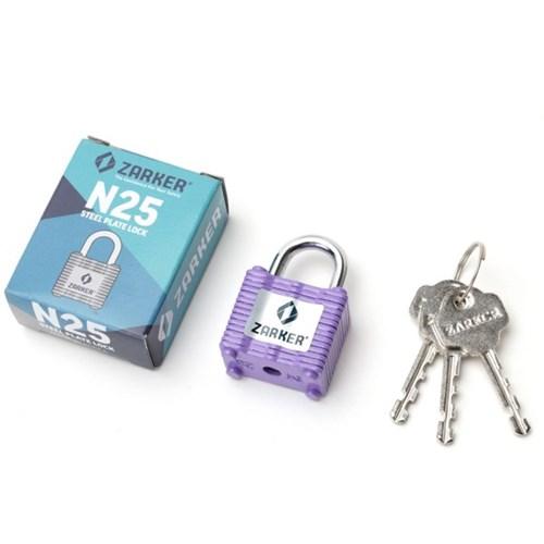 자커 철판 자물쇠 N25A