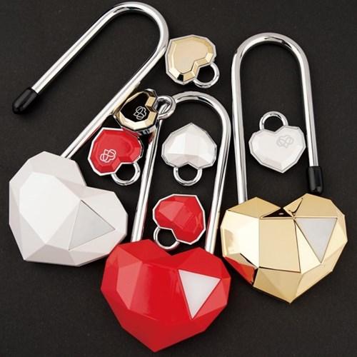 사랑의자물쇠 커플락 CL-2 단품페키지 화이트