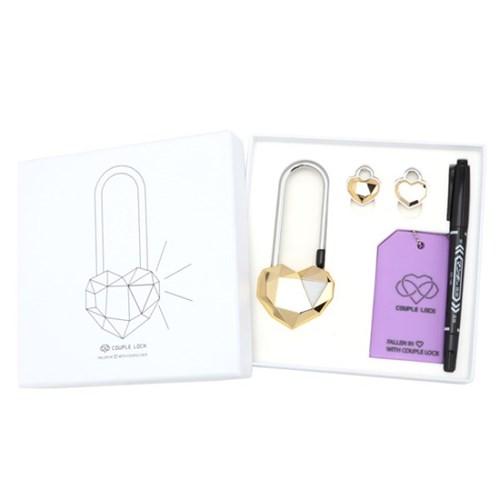 사랑의자물쇠 커플락 CL-1 프리미엄 골드