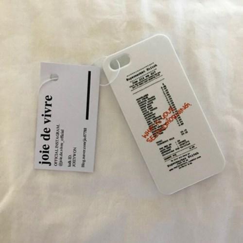 receipt case