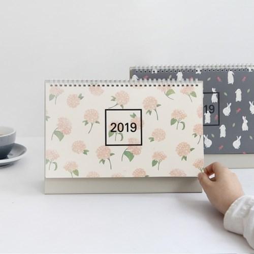 2019 wws 탁상용 캘린더 패턴