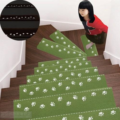 접착식 실내 계단매트