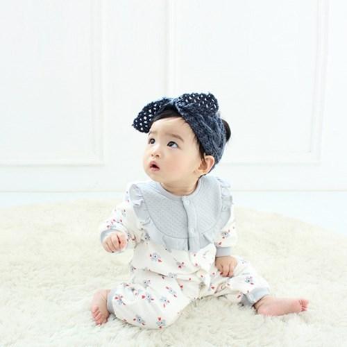[메르베] 드라이플라워 신생아 우주복/북유럽아기옷_겨_(1127738)