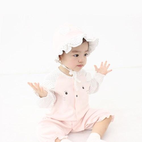 [메르베] 미니미f 신생아 우주복/북유럽아기옷_사계절용_(1132909)