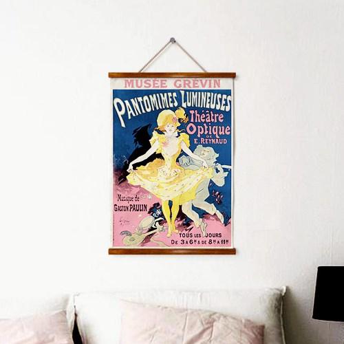 패브릭 천 포스터 그림 인테리어 액자 빈티지 9