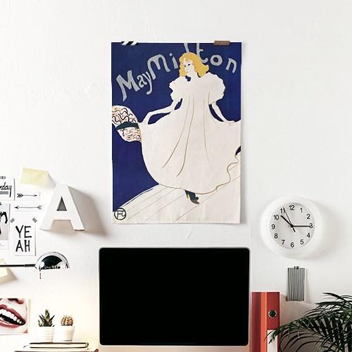 패브릭 포스터 그림 인테리어 카페 액자 빈티지 3