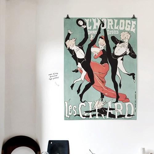 패브릭 포스터 그림 태피스트리 액자 빈티지 1