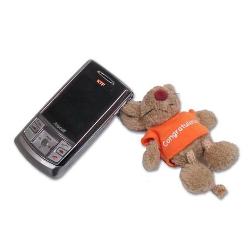 빈백키링-쥐(오렌지T) 시리즈 3종택1