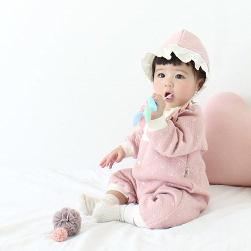 [메르베] 트윙클 신생아 우주복/북유럽아기옷_겨울용_(1144505)