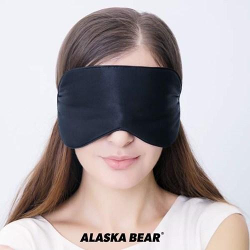 [정품] 신형 알래스카베어 실크 수면안대 입체 3D 꿀잠