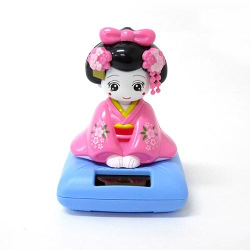 흔들흔들 솔라 기모노 여인(레드/핑크)2종-330103