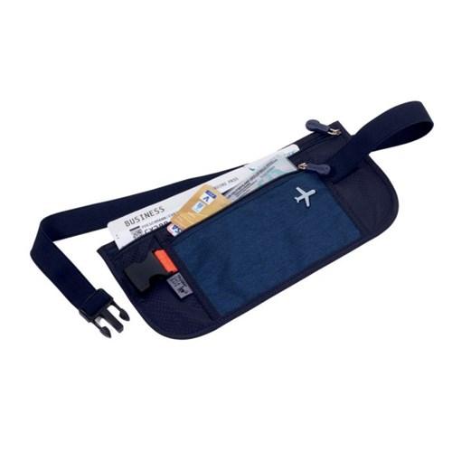 [트로이카] 여행용 안전 복대 파우치 다크블루 (BLB20/DB)