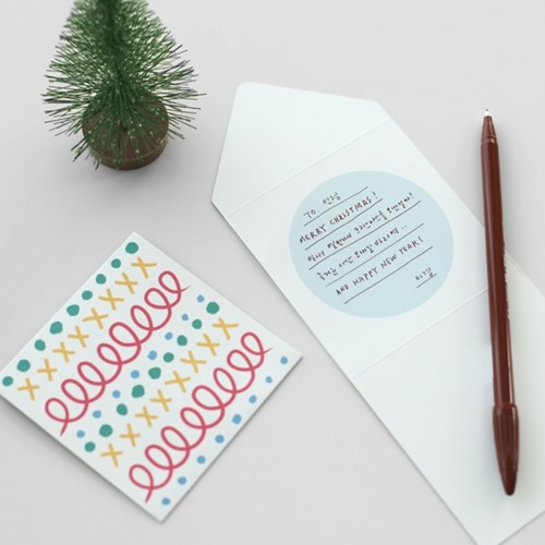 크리스마스 카드 세트 (5매)