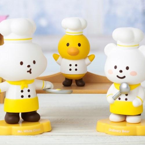 [팝마트코리아 정품 판매처] 플러피하우스 시리즈3_카페_박스